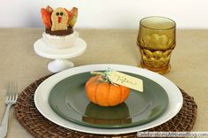 Thanksgiving Place Setting :: 5 Simple Elements — Celebrations at Home