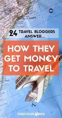 Ever Wondered How They Fund a Travel Lifestyle?  #travel #travelbloggers #traveltips #travelhacks