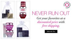 Avon Auto-Replenish - Subscribe Now.  Never run out of your favorite Avon skincare products again!