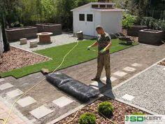 Gyepszőnyegterítés tavasszal - kerttervezés, kertépítés ötletek Make It Yourself, Facebook, Youtube, Youtubers, Youtube Movies