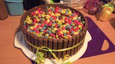 Kitkat-Smarties-Torte zum 2.Geburtstag meines Jüngsten