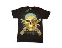 Tricou  Skull Pirate model GTD 003