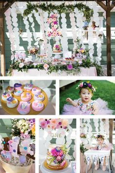 This 1st Birthday Garden Party Theme Will Definitely Make Your Little Oneu0027s  Day A Special Occasion. Complete With Adorable Decorations, Sweet Dessert  Ideas, ...