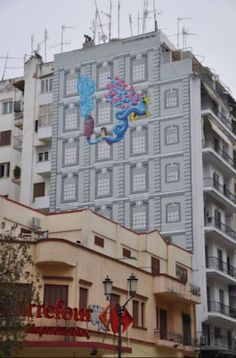 Street art, Thessaloniki, Greece