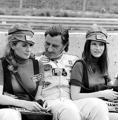 Ford-Pilot Graham Hill, Werbeträgerinnen (1973): Diese schrecklichen Momente