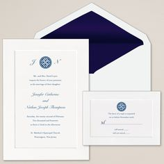 Exclusively Weddings Celtic Knot Wedding Invitations is a Irish design. Express your infinite love for one another with wedding invitations trimmed with an eternal Celtic knot.