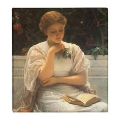 In the Orangery by Charles Edward Perugini 3 Ring Binder | Zazzle.com Girl Reading, Reading Art, Renaissance Kunst, Renaissance Paintings, Victorian Paintings, Charles Edward, Manchester Art, Manchester England, Classic Paintings
