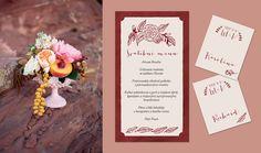 Wedding Invitation Marsala