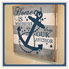 Home is where we drop our anchor