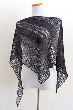 Ravelry: Wildheart shawl with fingering weight Handu yarn - knitting pattern by…