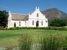 Franschhoek Church - Cape Dutch Architecture