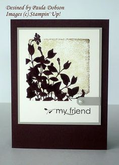 cards made with My Friend stamp set - Google Search