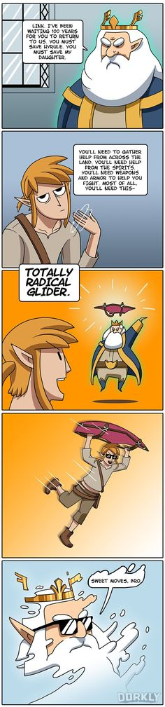 The Real Purpose of King Rhoma in Zelda