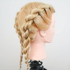 French Braid Short Hair, Upside Down French Braid, Side French Braids, French Fishtail, French Hair, Rope Braid Tutorials, Braided Hairstyles Tutorials, Braid Hairstyles, French Braid Tutorials