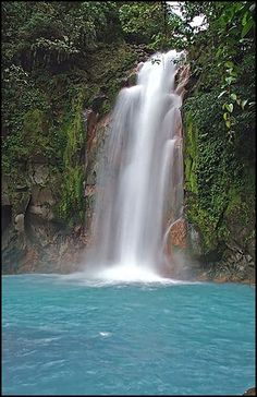Beautiful waterfalls can be found throughout Costa Rica