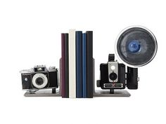 Vintage Gifts: Camera Bookends