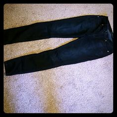 Lucky Brand Skinny Jeans Barely worn Brooke skinny Size 0/25 ankle Lucky Brand Jeans Skinny
