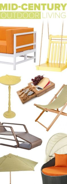 Make Your Backyard The Season's Hottest Destination With Our Retro Furniture & Décor | Up to 60% Off at dotandbo.com