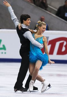 Piper Gilles and Paul Poirier of Canada Ice Dance Short  Rostelecom Cup 2013,  Ice Dance Costume inspiration for Sk8 Gr8 Designs.
