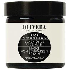 Maske Schwarze Oliven