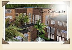 Sims 3 Lots: Cass Apartment Complex Custom Content Download