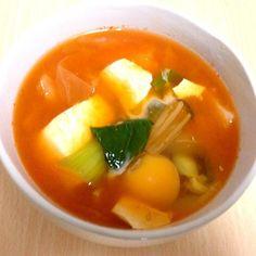 夕ご飯 - 1件のもぐもぐ - スンドゥブ by nakomin