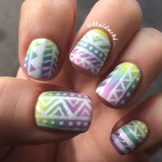 Gradient with tribal
