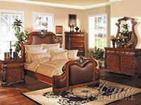 Acme Fine Furniture 1950 Artemis II Leather Bed
