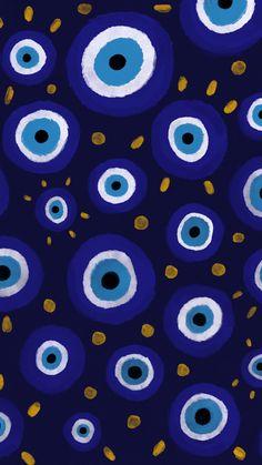 Eyes Wallpaper, Iphone Background Wallpaper, Screen Wallpaper, Cute Wallpaper Backgrounds, Pretty Wallpapers, Iphone Wallpaper Tumblr Aesthetic, Aesthetic Wallpapers, Evil Eye Art, Hippie Wallpaper