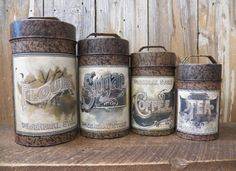 General store canisters