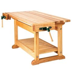 Basic Workbench and 6 ways to beef it up Woodworking Plan from WOOD Magazine Woodworking Shows, Woodworking Bench Plans, Wood Plans, Easy Woodworking Projects, Popular Woodworking, Woodworking Furniture, Diy Wood Projects, Workbench Plans, Garage Workbench