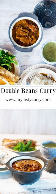 Double beans curry is delicious, spicy and healthy Indian curry cooked in Punjabi style. Very high in proteins and suitable for vegans, this double bean curry recipe is must try. Hi If you are subscribed to my newsletter, you already know that this month I am working on theme based posts on particular days. Traditional Monday Travel Tuesday