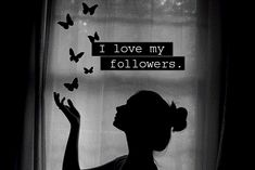 THANK YOU….. My followers. My personal anthem was born to be a ...