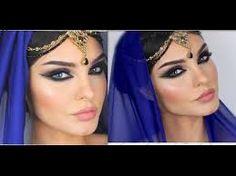 arabic make up, eye make up.