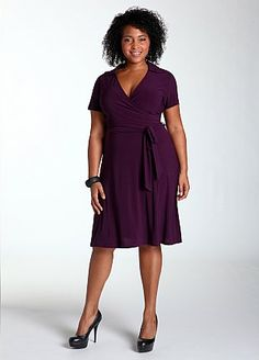 Ashley Stewart dress Use M6884 or V8379 #mccallpatterncompany #fallintofashion14