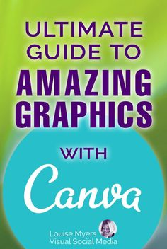 Need amazing graphics? Check out this Ultimate Guide how to use Canva! CLICK for the Canva tutorial and look like a pro designer with stunning visual content. #CanvaTutorial #GraphicDesign #Canva Social Media Images, Social Media Tips, Graphic Design Tips, Tool Design, Content Marketing, Social Media Marketing, Printable Designs, Creating A Brand, Being Used