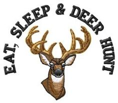 Free Deer Machine Embroidery Designs | Animals Embroidery Design: Deer Hunt from Grand Slam Designs