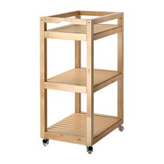 MOLGER Cart IKEA Easy to move - casters included.