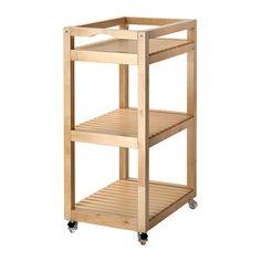 MOLGER ワゴン IKEA キャスター付きなので、移動が簡単です