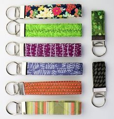 Tutorial: Quilted key fob or wristlet (thank you Lynn - i love mine - use it every day :)