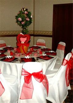 2013 Christmas chair cover set, Christmas red bow chair cover, Christmas home decor #Christmas #chair #cover #set www.loveitsomuch.com