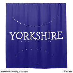 Yorkshire Roses Shower Curtain
