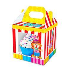 Caixa para Cupcake Circo (8un)