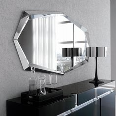 €759 Specchio rettangolare-sagomato Emerald