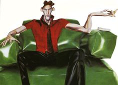 Massimo Navarra - fashion painting