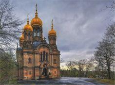 Russian-Orthodox Church, Wiesbaden, Germany (H.Dachs)