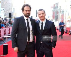 Justin Kurzel and Michael Fassbender attend the UK Premiere of 'Macbeth' at Edinburgh Festival Theatre on September 27, 2015 in Edinburgh, Scotland.