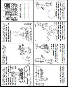 Story of Abraham and Isaac Book Printable