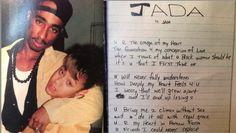 Jada Pinkett & Tupac, young love.