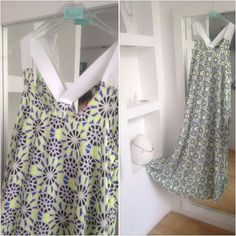 gorgeous summer dress with dreamy fabric - wear it with a tan :)